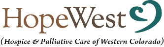 HopeWest (Hospice & Palliative Care of Western Colorado)