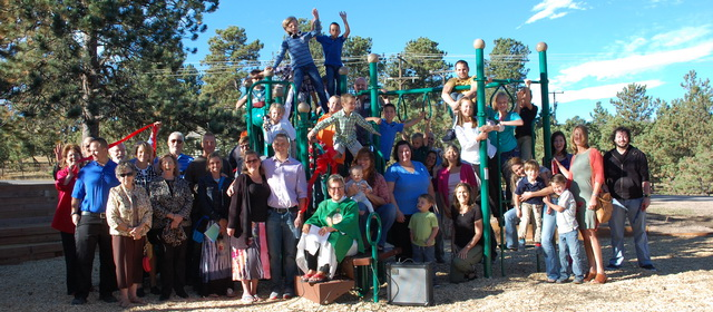 Evergreen Lutheran Church Playground
